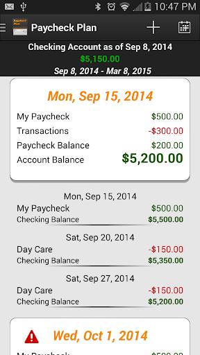 Paycheck Plan Pro