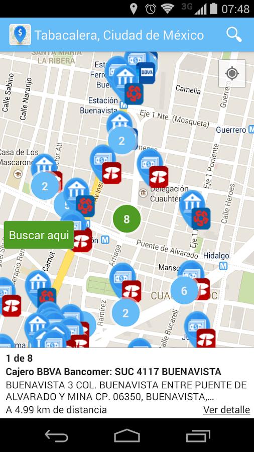 Cajeros de m xico android apps on google play for Cajeros automaticos cerca de mi