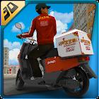 3D Pizza Boy Rider Simulator icon