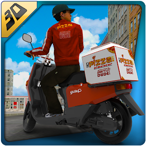 3D Pizza Boy Rider Simulator for PC and MAC