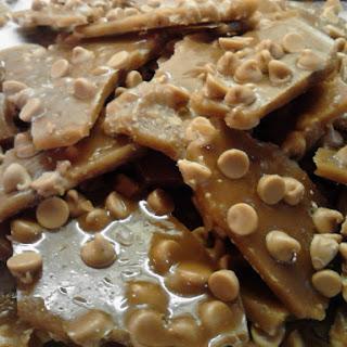 Peanut Butter Chip Brittle.
