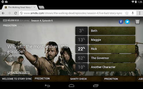 AMC for tablet - screenshot thumbnail