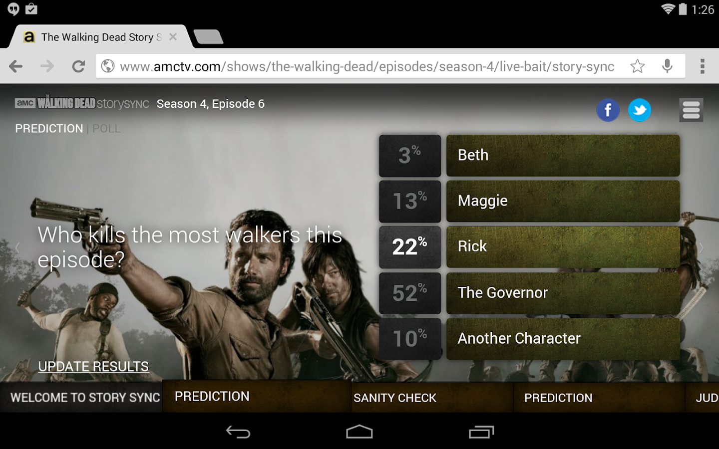AMC for tablet - screenshot