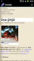 Screenshot of fastwiki Offline Encyclopedia