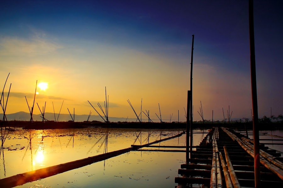 One morning in Ambarawa,central java, Indonesia. by Vincentius Trisandhi - Landscapes Sunsets & Sunrises