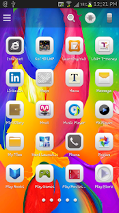 Galaxy S5 Launcher Theme