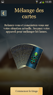 Tarot Egyptien Capture d'écran