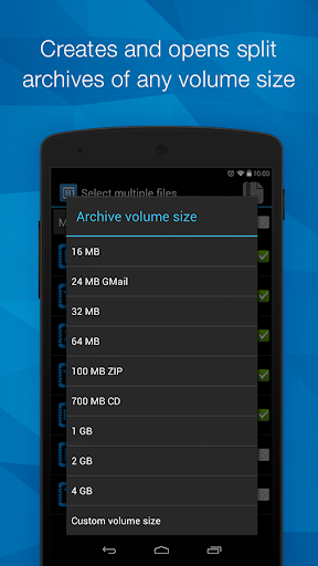 B1 Archiver zip rar unzip  screenshots 2