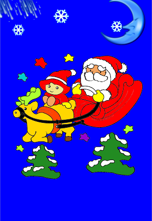 Coloring Christmas - Kids game 1.5 screenshot 513291