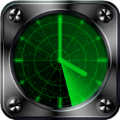 Radar Clock free livewallpaper