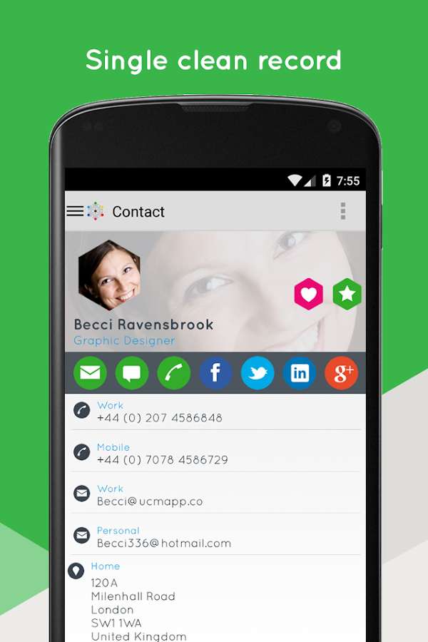 Ultimate Contact Manager- screenshot