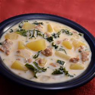 Sausage, Potato and Kale Soup