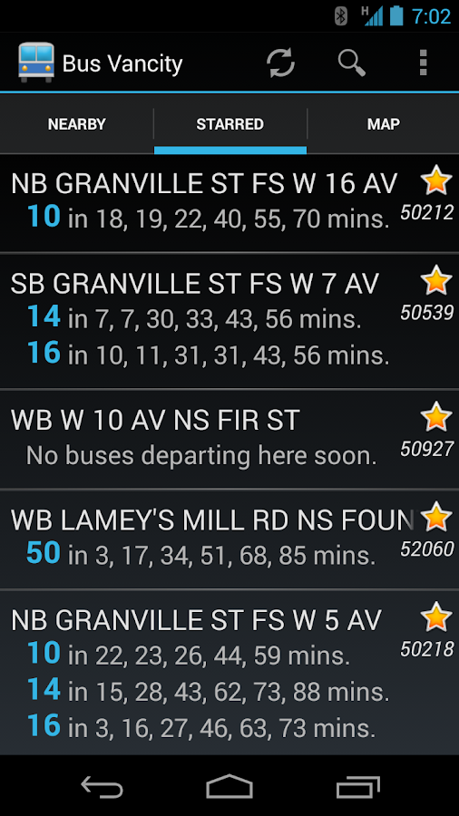 Bus Vancity - screenshot