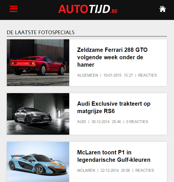 Autotijd.be- screenshot