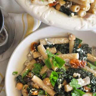 Greek Kale Pasta