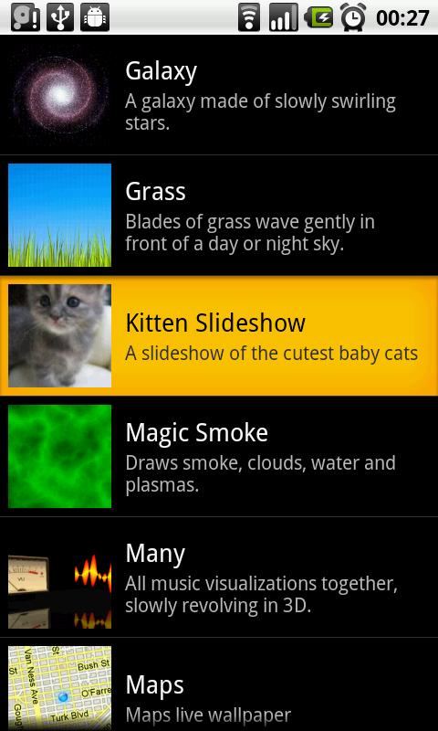 Kitten Slideshow - screenshot