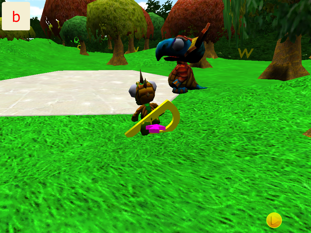 ABC Letter Dino 3D- screenshot