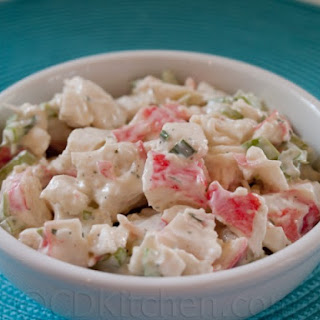 Golden Corral Crab Salad.