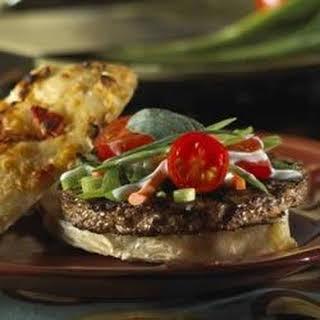 Spicy Thai Vegan Burger.