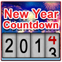 New Years Countdown 2014  LWP icon