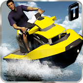 Jet Ski Driving Simulator 3D Android APK Download Free By Puzzle Corp