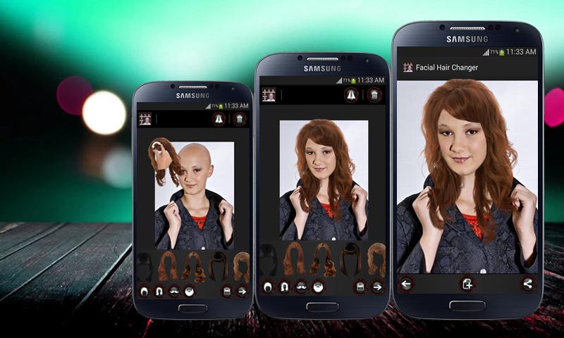 Astounding Face Hair Changer Men Women Android Apps On Google Play Short Hairstyles For Black Women Fulllsitofus