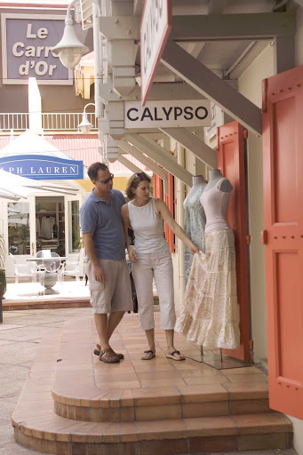Go street shopping in St. Barthélemy (aka St. Barts or St. Barths) during a shore excursion on your Windstar cruise.