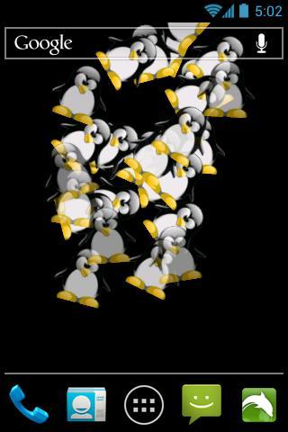 Falling Penguins LWP
