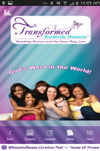 Transformed Worldwide Ministry - náhled