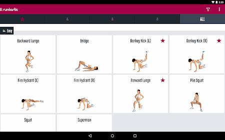 Runtastic Butt Trainer Workout 1.3 screenshot 31823