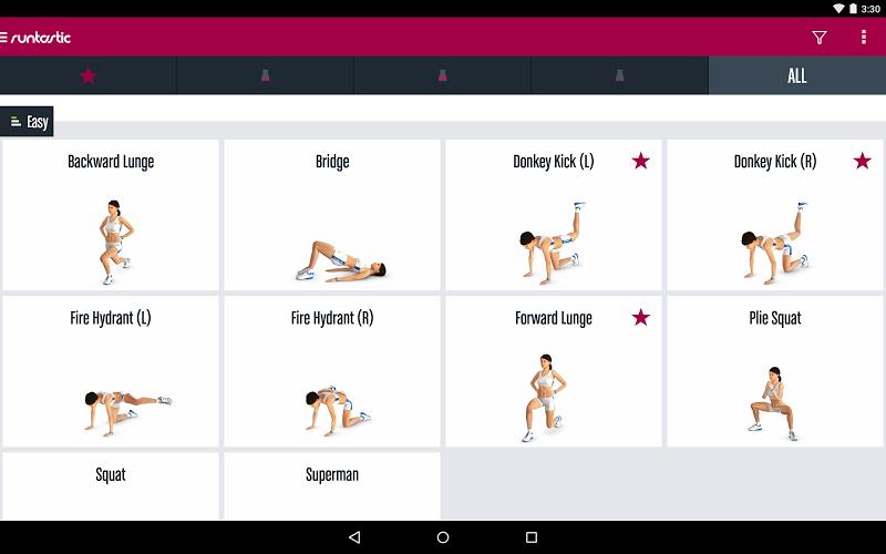 Runtastic Butt Trainer Workout Screenshot 10