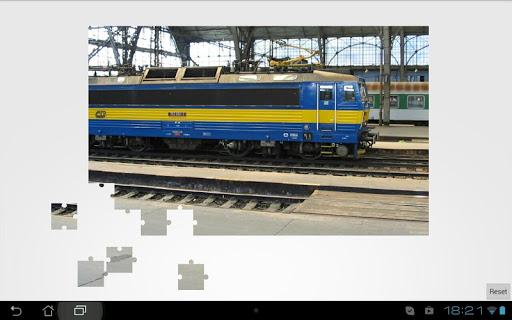 【免費解謎App】Train jigsaw puzzle full-APP點子