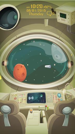 Lost Space Live Locker Theme
