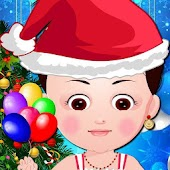 Christmas Baby Dress up