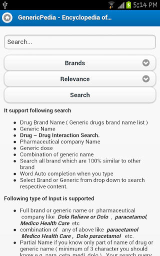 【免費醫療App】Generic drugs encyclopedia-APP點子