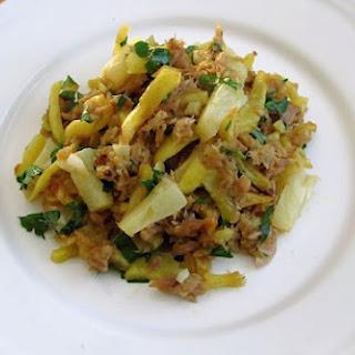 Tuna 'à Brás' With Pineapple.