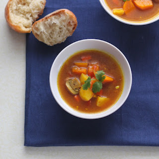 Vegan Winter Vegetable Soup