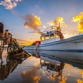 by Enver Karanfil - Transportation Boats