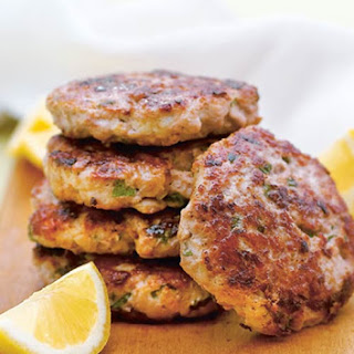 Turkey Burgers with Lemon and Mint Recipe