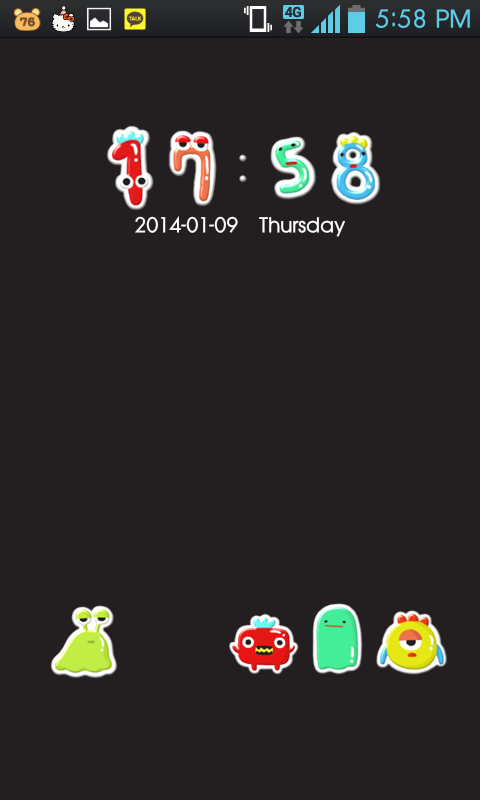 monster go locker theme - screenshot
