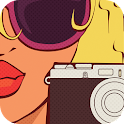 Retro Photo Camera icon