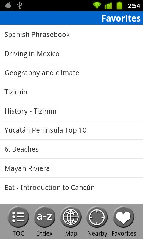 Cancun & Yucatan- Travel Guide- screenshot