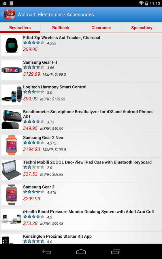 Best Deals - screenshot