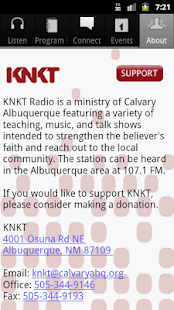 KNKT Radio- screenshot thumbnail