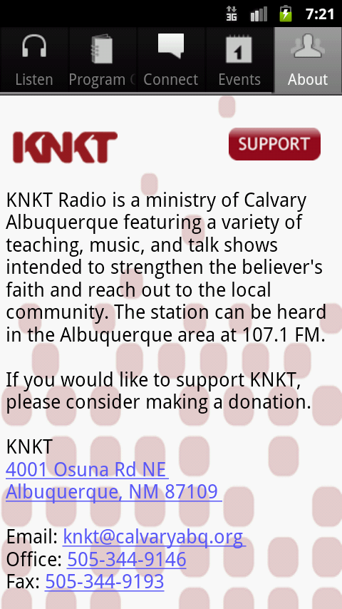 KNKT Radio- screenshot