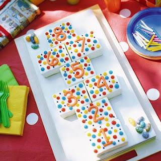 Polka-Dot Birthday Cake.