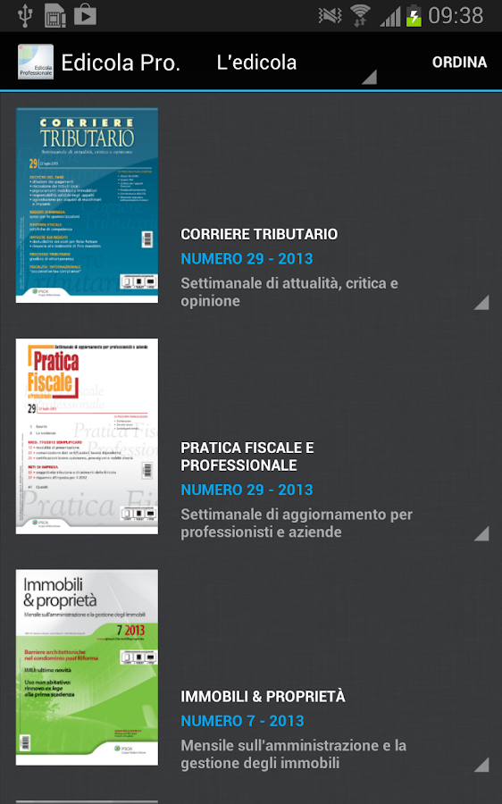 edicola professionale android apps on google play