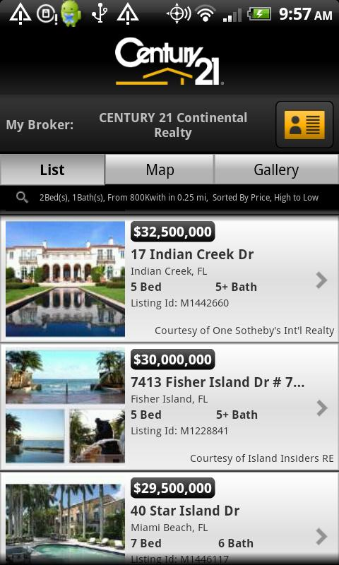 CENTURY 21 Real Estate Mobile - screenshot
