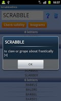 Screenshot of Scrabble & Words WF Helper