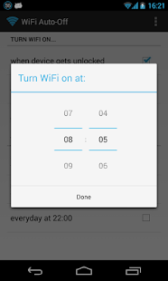 WiFi Automatic Screenshot